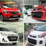 So sánh 3 ô tô giá rẻ nhất hiện nay